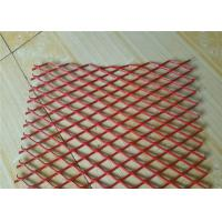 Buy cheap Colorful Expanded Stainless Steel Mesh with Firm Structure Diamond Hole product