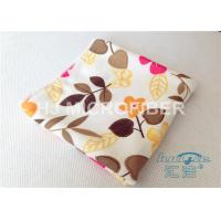 Buy cheap High Absorbent Flower Printed Streak Free Microfiber Cloth 80% Polyester product