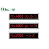 Buy cheap Queue System LED Counter Display 8 Character 150-500 Meters Wireless Distance product
