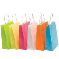 Buy cheap Recyclable Colored Kraft Paper Bags , Custom Brown Paper Bags For Department Stores product