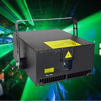 Buy cheap 8000mW 8W Big Power Indoor Wedding RGB Full Color Animation Laser Light Show product