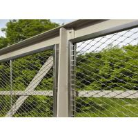 Buy cheap 7*7 2.0mm 304l Stainless Steel Rope Mesh product