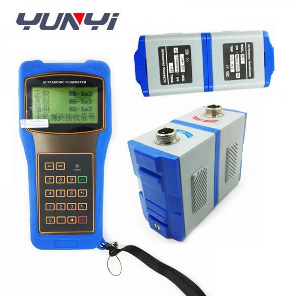 Quality flow meter types Hand Held Ultrasonic water Flow meter sensor for sale