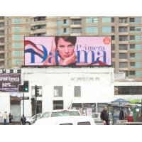 Buy cheap 64dots * 48dots Resolution 20mm Outdoor Full Color Led Display For Building Top product