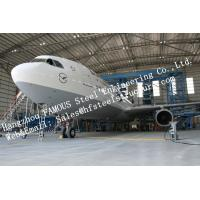 China Hot Galvanized Steel Shed Aircraft Hangar Buildings For Airplanes / Air Terminals on sale