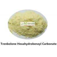 Buy cheap Muscle Growth Steroids Trenbolone cyclohexylmethylcarbonate / Parabolan CAS 23454-33-3 Tren C product