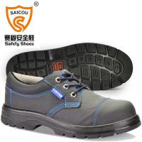 China Stylish Pu Injection Low Cut Safety Shoes Wide steel toe cap Safety shoes FC-2588 on sale