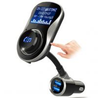 Buy cheap Dual USB Port FM Transmitter Bluetooth AUX Audio Receiver Adapter , Support U from wholesalers