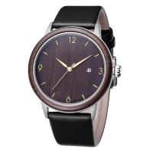 Buy cheap Engraved Custom Wooden Quartz Watch With Japan Quartz Movement CE Certificate product