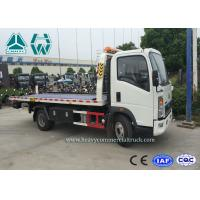 Buy cheap Right Hand Drive Howo 4 x 2 Wrecker Tow Trucks For Car Transporter from wholesalers
