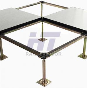 Buy cheap Antistatic Computer Room Flooring , High Density Calcium Sulphate HPL Raised Floor product