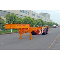 Buy cheap 20ft / 30ft Gooseneck Container Trailer Chassis ISO Transporting Container product