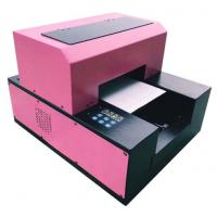 Buy cheap Mini A3/ A4 UV Flatbed Printer , PVC Card Flatbed 3d Embossing A3 Uv Printer product