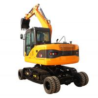 Buy cheap New Technology 2018 Crawler-Wheel  Double Use EPA  CE Certificated Excavator For Sale product