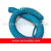 Buy cheap UL20937 Light Duty Electronic Interconnection Spring Coiled Cable 80C 30V product