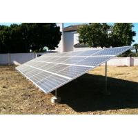 Quality Metal roof & ground Solar Panel Mounting System Anodized aluminum Material for sale