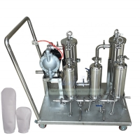 Buy cheap Multiple Stages 180mm 50 Micro SS304 Liquid Filtration Machine product