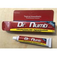 China 10% Lidocaine 30G Dr Numb Tattoo Anesthetic Cream Numbing Cream For Body Tattoo wholesale