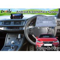 Buy cheap Android 6.0 GPS Navigation Interface for Lexus CT 200h 2016-2018 support from wholesalers