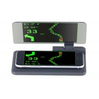 Buy cheap Smartphone 6 Inch Screen Hud Mobile Navigation Bracket , Hud Phone Holder PC + ABS Material product