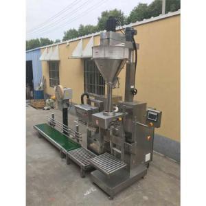 China 25kg packing machine Lift type powder filling machine,Semi-auto Big bag filling machine Low Price on sale