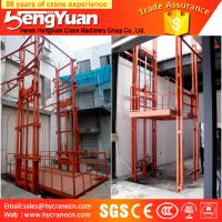China most popular guide rail chain motorcycle lift on sale