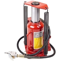 Buy cheap Red 20Ton Pneumatic Hydraulic Bottle Jack With Ram Saddle product