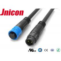 Buy cheap M12 IP67 Waterproof Audio Connector 3 Pin PA66 Material For Power Application product