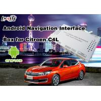Buy cheap Quad core 1.6GHz  Android Auto Interface 2014-2017 Citroen C4L(MNR) from wholesalers