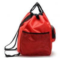 Buy cheap 210D Polyester Foldable Reusable Shopping Bags With Pull String Closure product