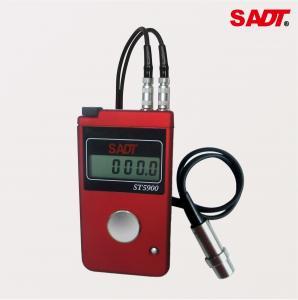 Buy cheap Steel Wall Ultrasonic Thickness Gauge distributor price  Handheld Digital With 1.2mm - 200mm Range product