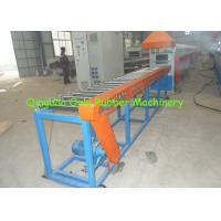 China Window / Door Sealing Strip Rubber Profile Extrusion Line 6-8 Worker Required wholesale