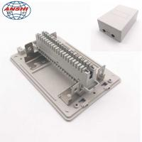 Buy cheap Network Cable Distribution Box 10/20/30 Pair Telephone Module Surface Mounting Insert Type product