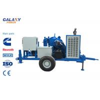 Buy cheap Underground Cable Pulling Equipment Diesel 49.2hp/36kw Hydraulic Puller Max pull force 100kN product