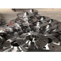 Buy cheap Counter Stainless Steel Flanges , Heat Exchanger Reducing Weld Neck Flange 4 inch product