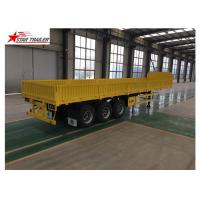 Buy cheap High Strength Front Load Trailer 50T Max Payload High - Tensile Steel Material product