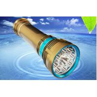 Buy cheap Scuba Diving Flashlight Scuba Diving Torch 8000Lm Aluminum Alloy Material from wholesalers