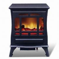 China MDF Electric Fireplace Heater with Power of 2,000/1,500W, Measures 480 x 320 x 650mm on sale