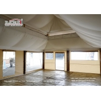 Buy cheap High Quality 5x7.5m Luxury Glamping Tents Pattaya Hotel Tent With Platform product