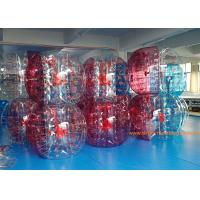Buy cheap 1.5M TPU Interstitial  Inflatable Bumper Ball Battle Sumo Zorb With CE from wholesalers
