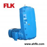 Electric motor w speed reducer gearbox hoist