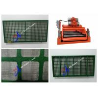 Quality Steel Frame Swaco Mongoose Shaker Screen / Vibration Screen Mesh For Desander for sale