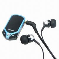 Buy cheap Bluetooth Stereo Headset, V2.1/EDR Version and Class Two Power to Get Stable Transmit product