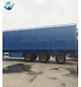 Buy cheap 3 axle Van Type Box Semi Trailer for bulk cargo/ foods carrier product