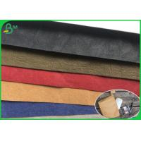Buy cheap Unique texture OEM service 0.55mm Washable Kraft paper to pruduce makeup Storage from wholesalers
