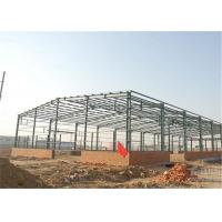 Buy cheap Industrial Steel Construction Prefab Warehouse Building Q235 / Q345 Material product