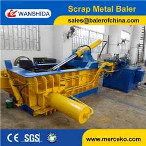 Buy cheap Hydraulic Scrap Metal Baler Light Metal Scrap Baling Press Machine Y83-125 product
