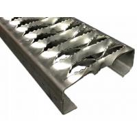 China High Strength Non Slip Metal Plate Grip Strut Safety Grating Rust Resistance on sale