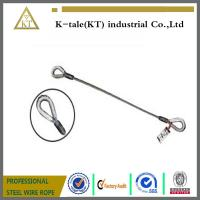 Buy cheap 1/4 Single Leg Thimble and Thimble Wire Rope Slings product