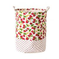 Buy cheap Printing Fabric Cloth Folding Laundry basket from wholesalers
